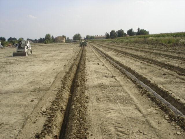 Sistemi di drenaggio per campi sportivi di Green Power Service