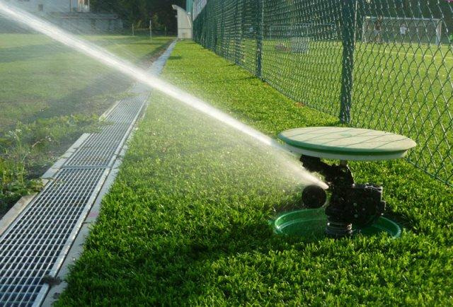 Irrigazione campo sportivo di Green Power Service