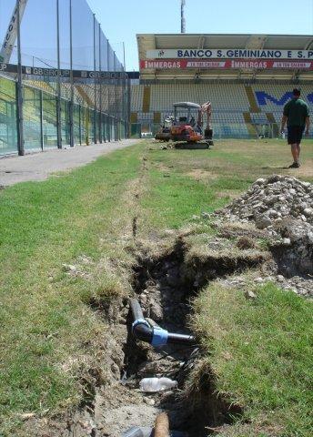 Irrigazione impianto sportivo di Green Power Service