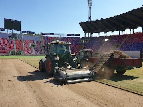 Rizollatura Stadio Renato Dall'Ara - Anno 2019