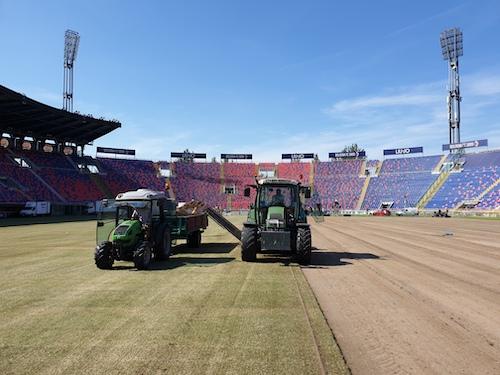 Rizollatura Stadio Bologna - Anno 2019